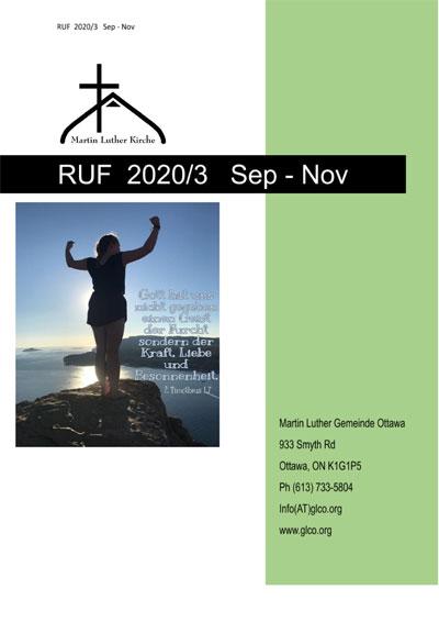 RUF 2020/3 Sep. - Nov.