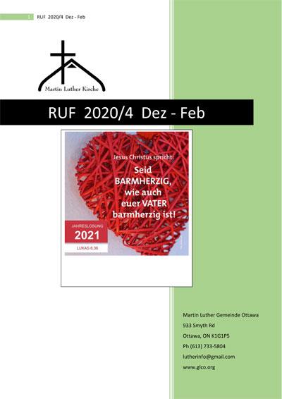 RUF 2020/4 Dez - Feb