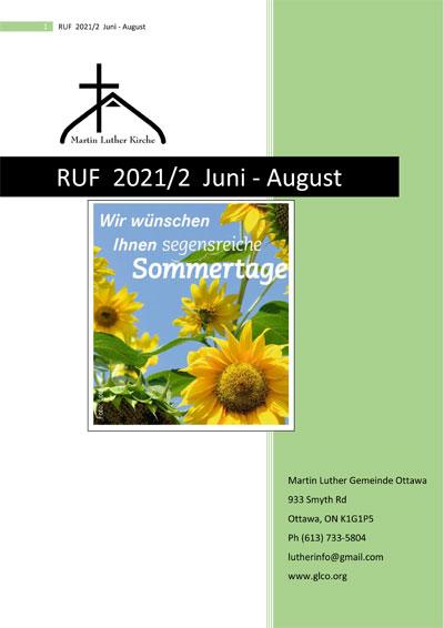 RUF 2021/2 Juni - August