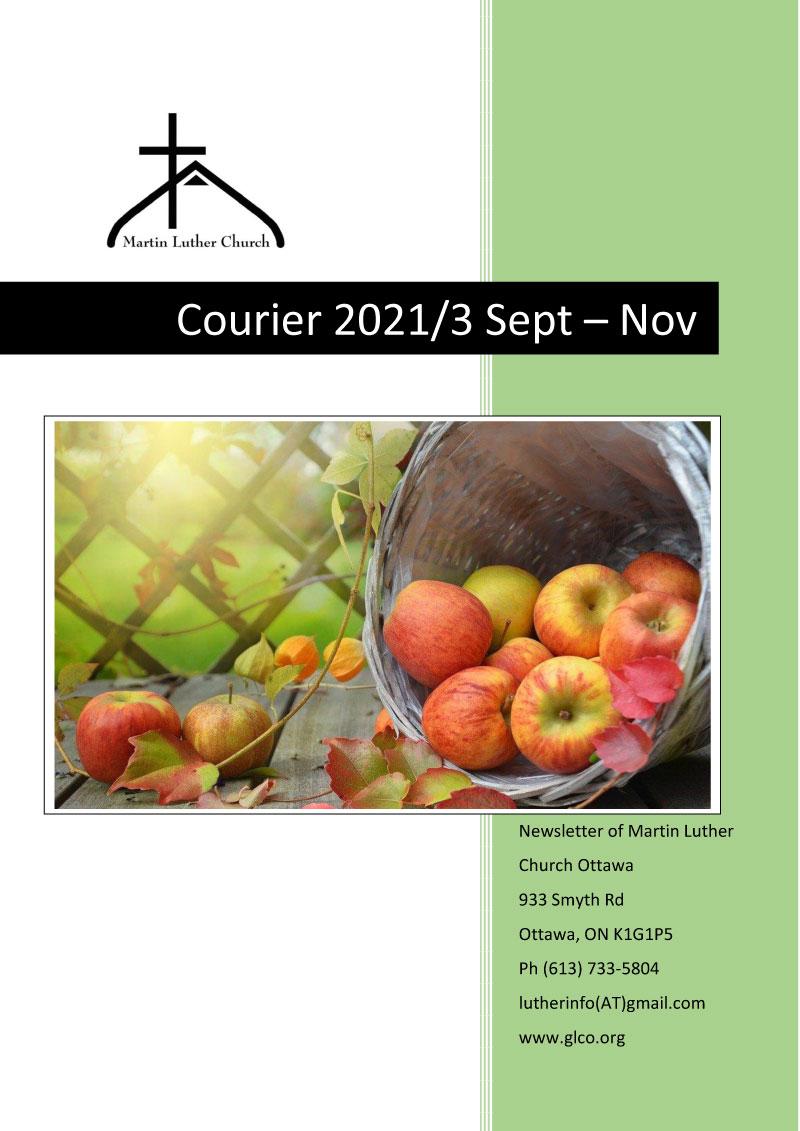 Courier 2021/3 September to November